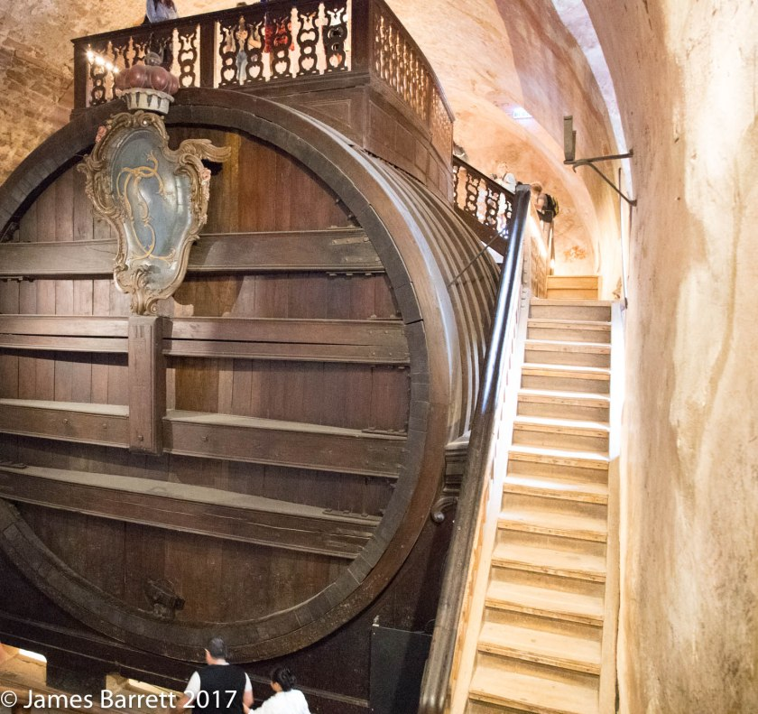 Wine cask, Schloss Heidelberg