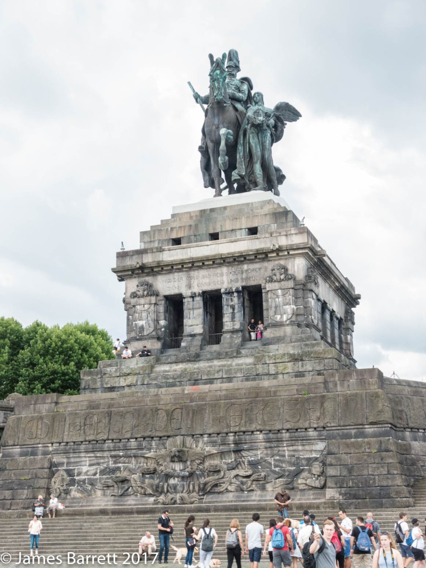 William I replacement Statue on Deutsches Eck
